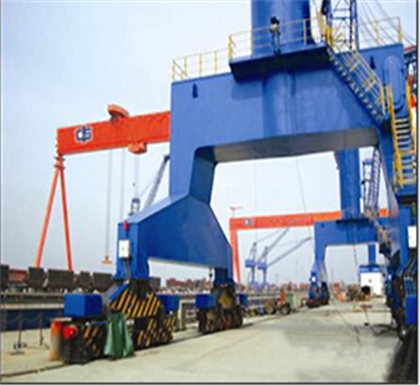 聚氨酯缓冲器应用于起重机上